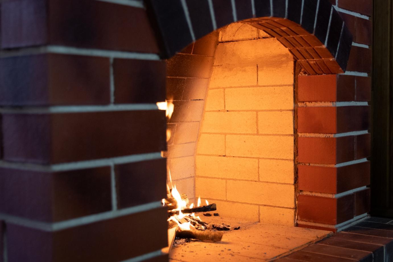 Отопительная печь и камин открытого типа, Курган Славы 2019г.