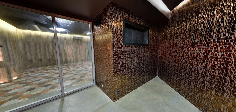 Соляная комната с парогенератором EOS Himalayan Cube в ФОК Витебской области