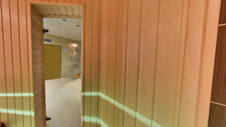 Сауна в отеле Victoria & SPA Hotel с печью EOS г.Минск, 2018